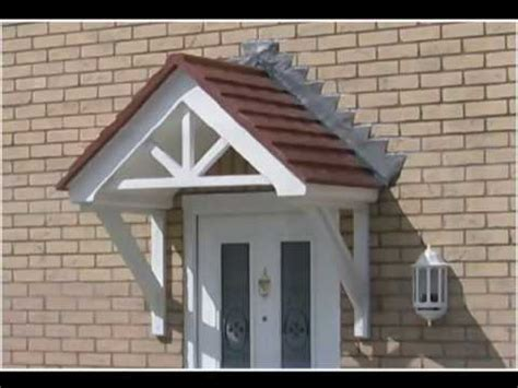vinyl wood siding door canopies delivered to home owners roofers builders