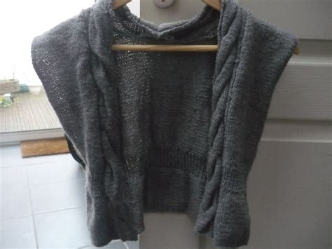 veste de cuisine gilet pour fille tata tricot