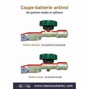 Coupe Circuit Voiture Antivol : cosse de batterie antivol coupe batterie ~ Maxctalentgroup.com Avis de Voitures