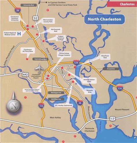 charleston area convention and visitors bureau charleston sc free printable charleston sc maps