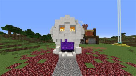 heres  nether portal design minecraft