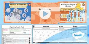 New   Planit Maths Y5 Fractions Lesson Pack Multiply