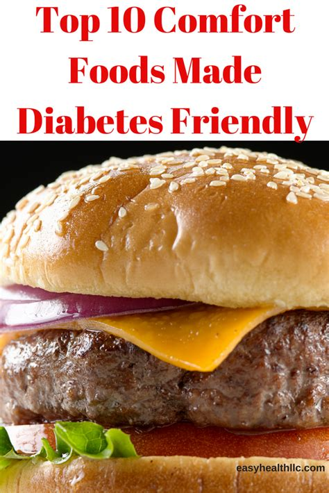 top  comfort foods  diabetes friendly diabetes