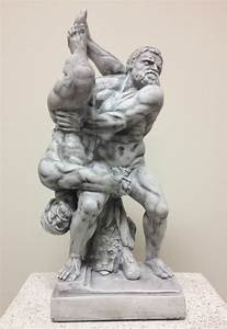 Famous Reproduction of Hercules and Diomedes Statue by