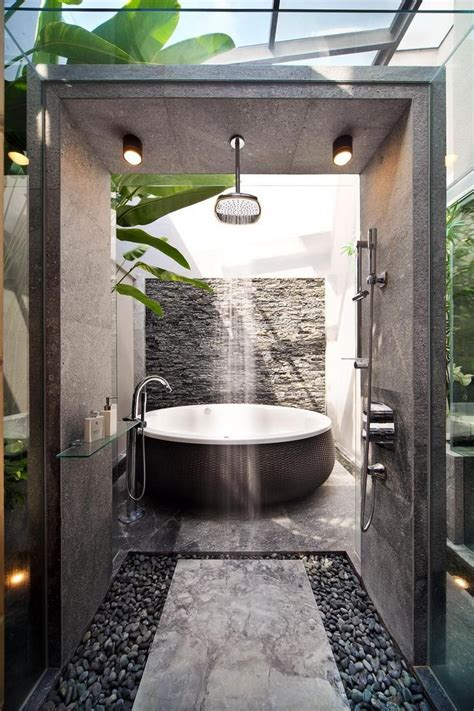 resort style bathrooms     feel  youre
