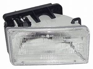 New Replacement Headlight Assembly Rh    For 1991