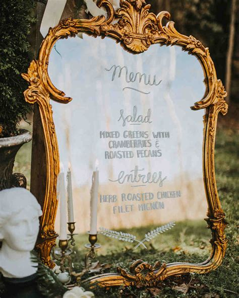 pretty  unexpected wedding menu ideas martha