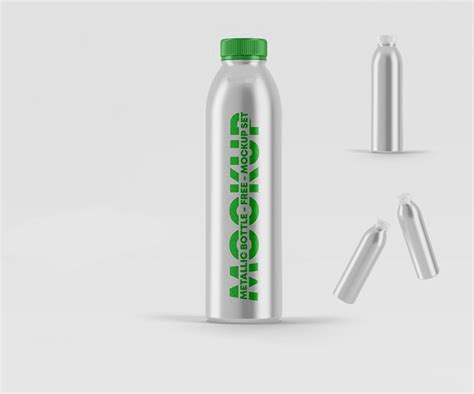 Your brand, logo or packaging will look gorgeus thanks to this template. DOWNLOAD FREE METALLIC BOTTLE MOCKUPS IN PSD | FREEBIES ...