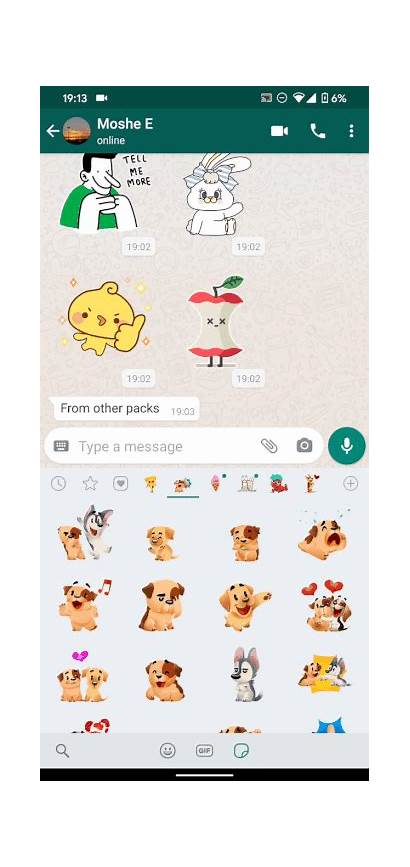 Stickers Whatsapp Animated Android Ios Them Sweet