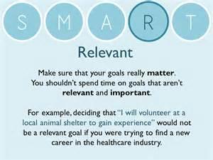 Smart Goal Worksheet Example
