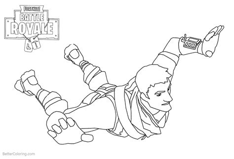 Warlord From Fortnite Coloring Pages