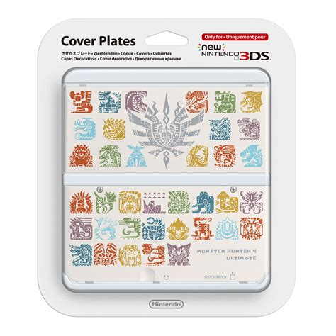 new 3ds cover plates new nintendo 3ds cover plates no 022 monster hunter