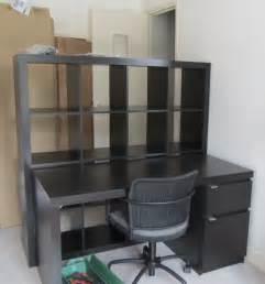 ikea etagere bureau étagère cloison