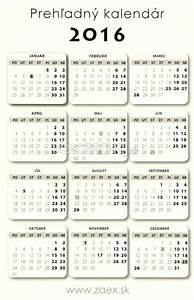 Zachejsk • Kalendár 2016 kartičkový motív 1