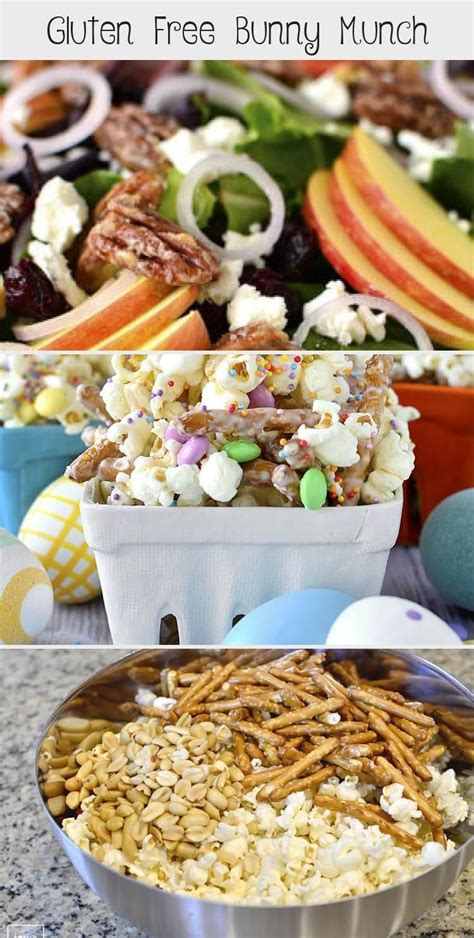 Easter means new, seasonal produce and fresh flavors. Gluten Free Bunny Munch - Pinokyo | Recipe in 2020 ...