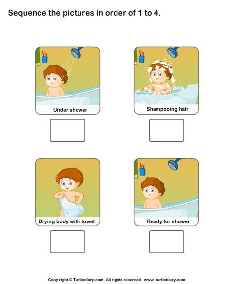 teaching personal hygiene worksheets worksheet turtle diary
