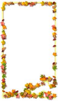 Transparent Fall Frames and Borders