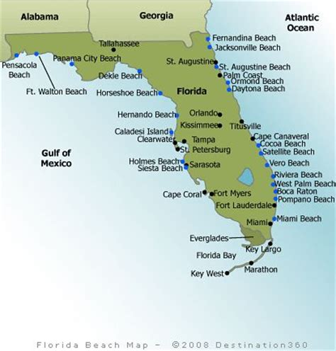 florida beaches map excerise   cocoa beach