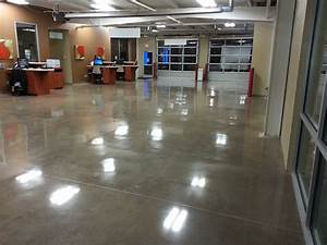 car service center polished concrete floor With concrete floors atlanta