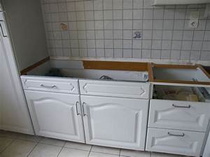 Plan De Travail Chene Blanchi : r nover une cuisine comment repeindre une cuisine en ~ Premium-room.com Idées de Décoration