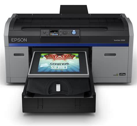 Mesin Dtg Epson epson surecolor f2100 w dtg direct to garment printer for
