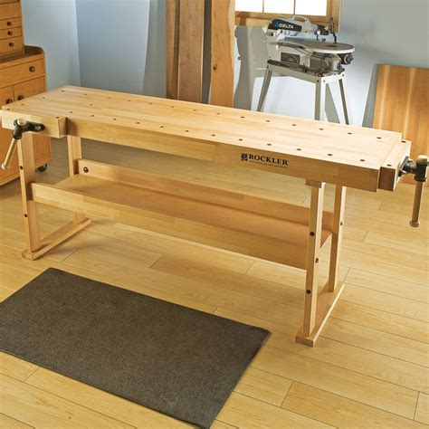 Woodworking Bench by Beech Wood Workbenches Beech Wood Workbenches Rockler
