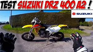 Suzuki Permis A2 : moto vlog 79 test suzuki drz 400 permis a2 youtube ~ Medecine-chirurgie-esthetiques.com Avis de Voitures