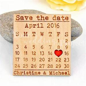 calendar save the date magnet custom engraved save the With wedding invitations with save the date magnet
