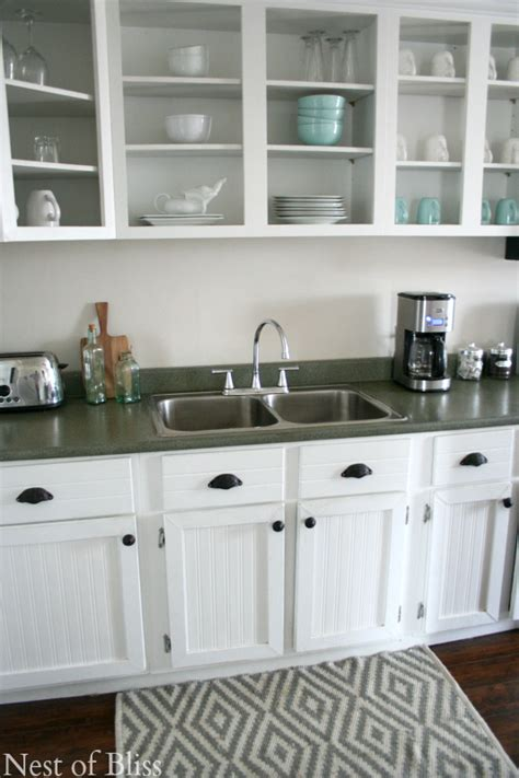 Covering Countertops  Faux Granite Makeover