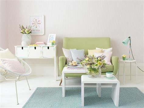 pink pastel living room furniture ideas
