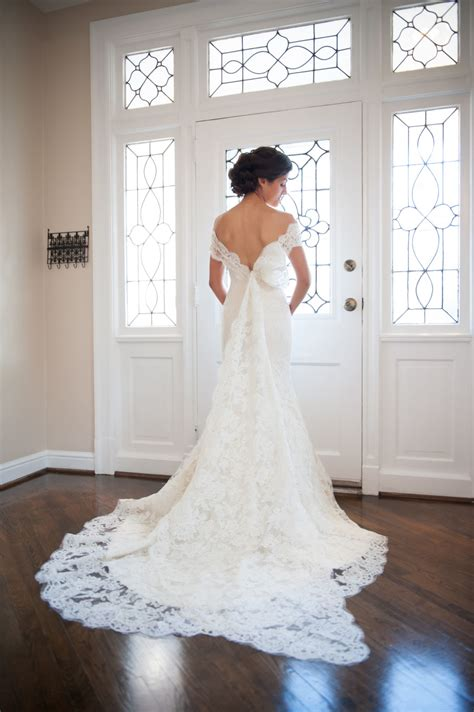 romantic   shoulder wedding dresses