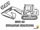Coloring Construction Excavator Vehicle Digger Cat Pages Boys Colouring Trucks Printable Truck Machines 307c Yescoloring sketch template