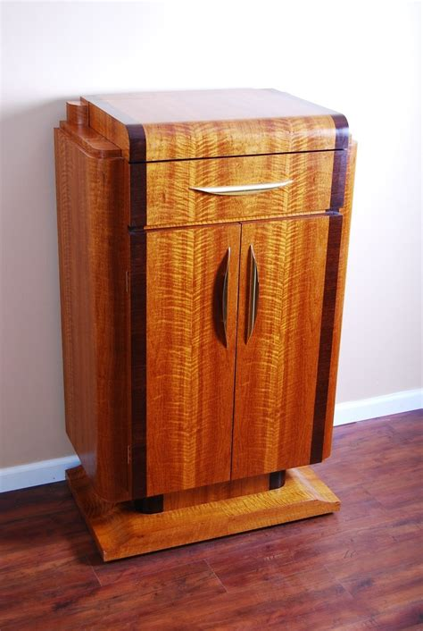 art deco bar cabinet hand crafted art deco bar by m s woodcraft custommade com
