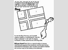 Norway Coloring Page crayolacom