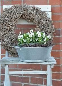 Deko Hauseingang Frühling : house no 43 fr hling hornveilchen dekoration decoration spring wreath dekoration ~ Orissabook.com Haus und Dekorationen