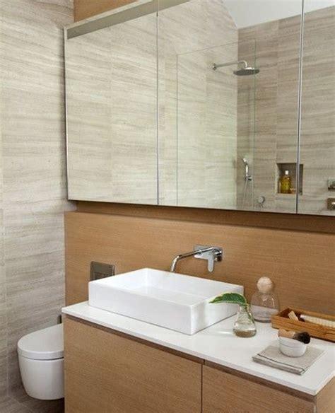 white bathroom remodel ideas frameless mirror with white sink for modern bathroom