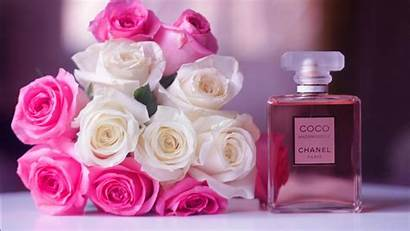 Perfume Chanel Flowers Coco Blur Wallpapers 1366
