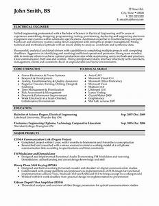 electrical engineer resume sample template With sample resume of an electrical engineer