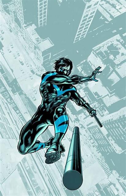 Nightwing Dc Comics Quinn Harley Guardado Desde