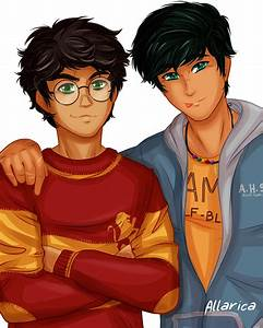 Harry And Percy By Allarica On DeviantArt