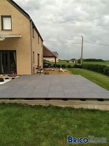 Terrasse Sur Plot : terrasse carrelage sur plots ~ Melissatoandfro.com Idées de Décoration