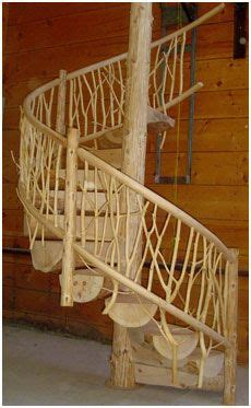 future forest dream home natural spiral staircase