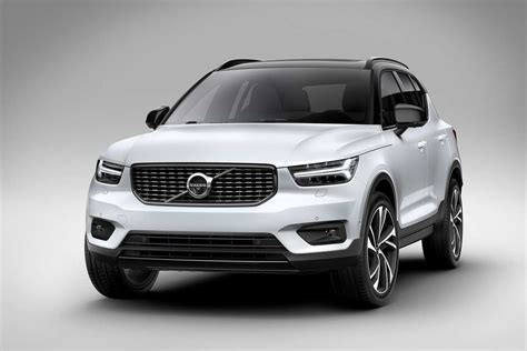 volvo xc suv introduced production begins  november