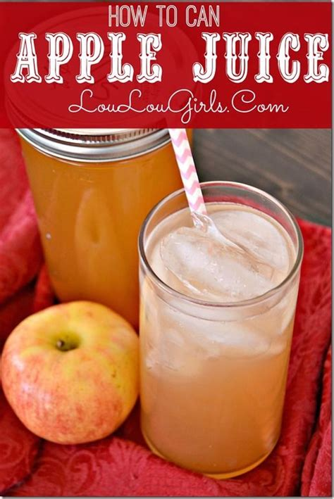 apple juice juicer homemade electric canning loulougirls apples
