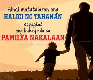 Tagalog Fathers Day Quotes and Sayings ~ Boy Banat