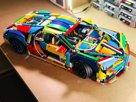Our one would be a true 1:1 copy of the magnificent bugatti chiron, built from lego technic elements. LEGO MOC 42083 Pimp up my Bugatti by jb70   Rebrickable - Build with LEGO