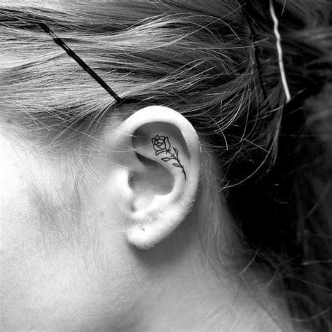 55+ Des Meilleures Idées Tatouage Oreille Et Sa Signification