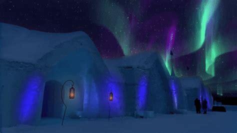northern lights snow gif  hallmark channel find