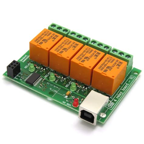 Usb Channel Relay Board For Home Automation Jqc