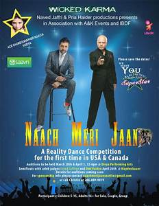 Naach Meri Jaan, a reality Bollywood dance competition ...